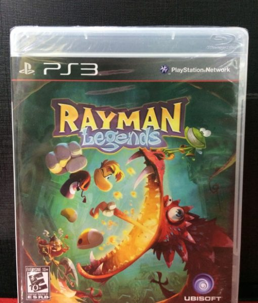 PS3 Rayman Legends game