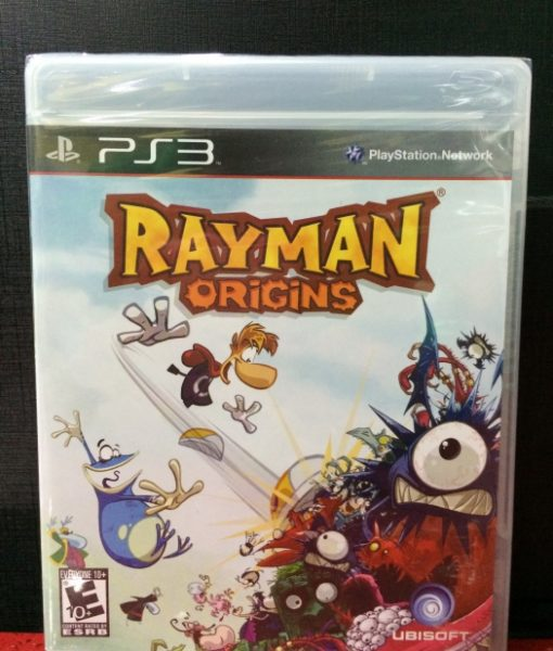 PS3 Rayman Origins game
