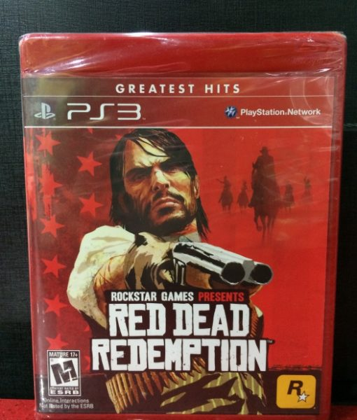 PS3 Red Dead Redemption game