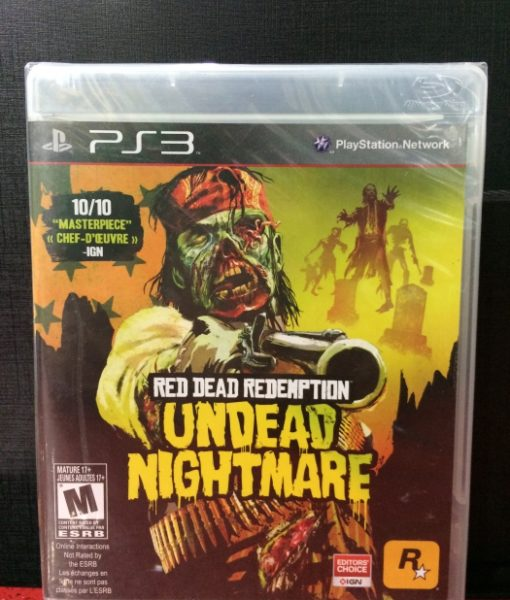 PS3 Red Dead Undead Nightmare game