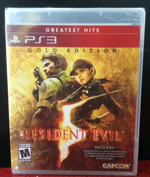 PS3 Resident Evil 5 Gold game