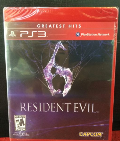 PS3 Resident Evil 6 game