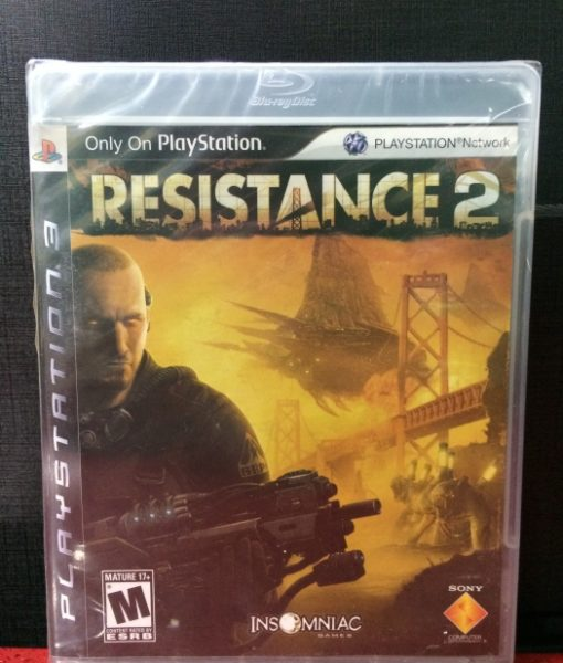 PS3 Resistance 2 game