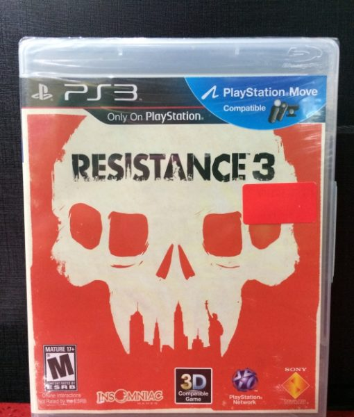 PS3 Resistance 3 game