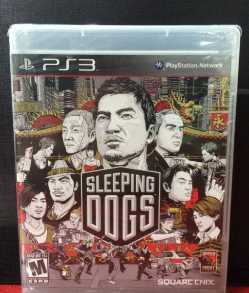 PS3 Sleeping Dogs game