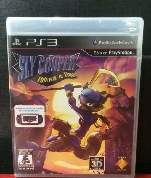 PS3 Sly Cooper Thieves in Time game