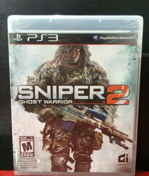 PS3 Sniper 2 Ghost Warrior game