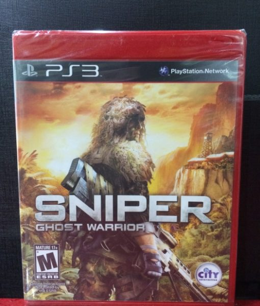 PS3 Sniper Ghost Warrior game