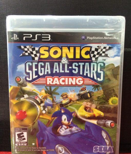 PS3 Sonic Sega Racing game