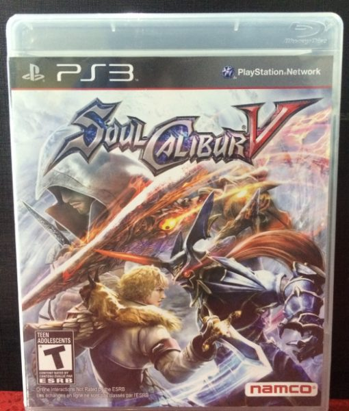 PS3 SoulCalibur V game