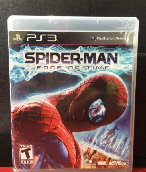 PS3 Spiderman Edge of Time game