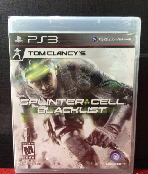 PS3 Splinter Cell Blacklist game