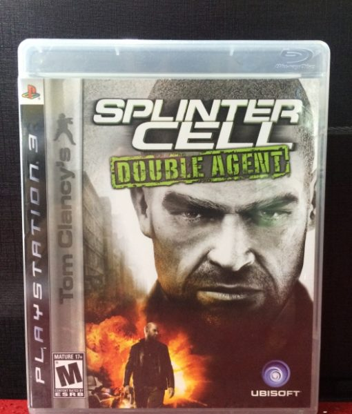 PS3 Splinter Cell Double Agent game