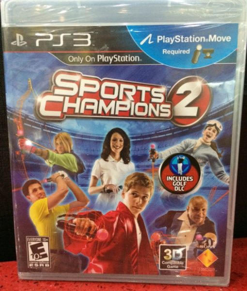 PS3 Sports Champions 2 game