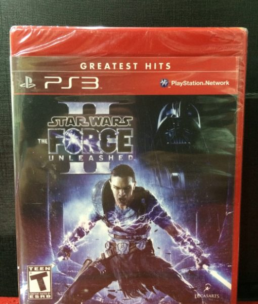PS3 Star Wars Force Unleashed II game