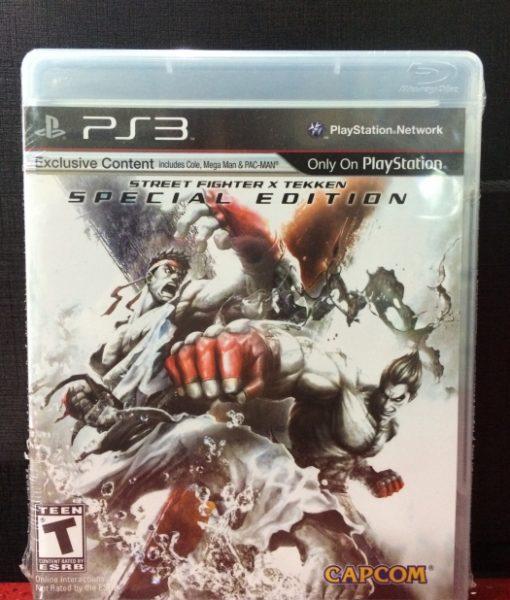 PS3 Street Fighter x Tekken game