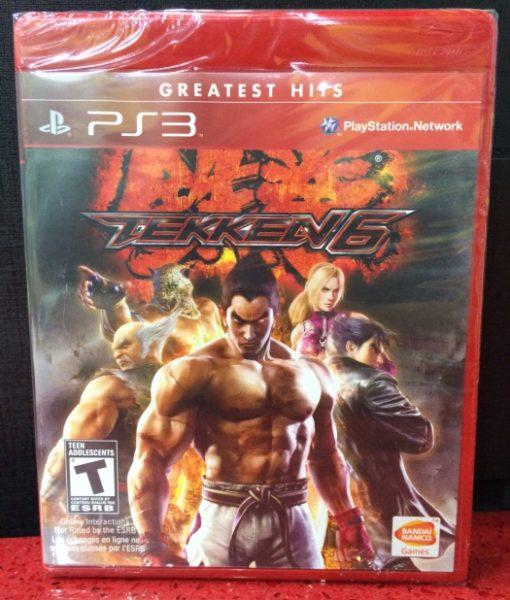 PS3 Tekken 6 game