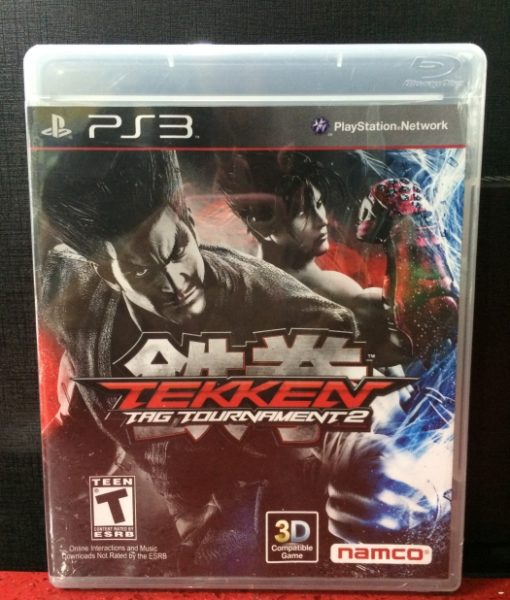 PS3 Tekken Tag Tournament 2 game