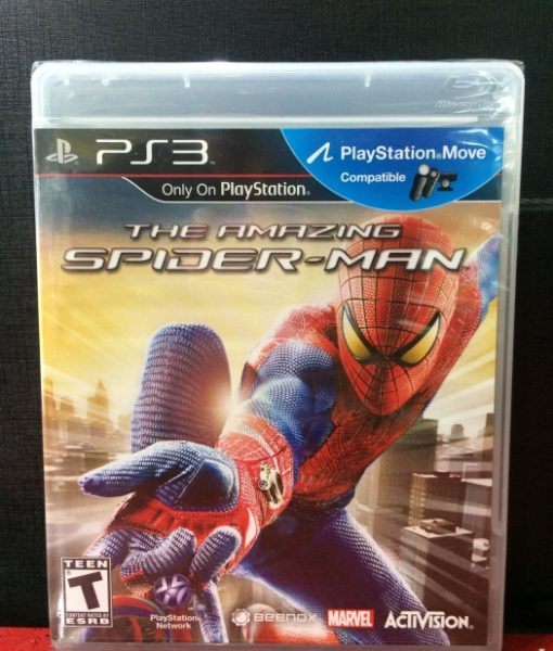 PS3 The Amazing SpiderMan game