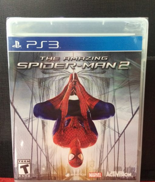 PS3 The Amazing Spiderman 2 game