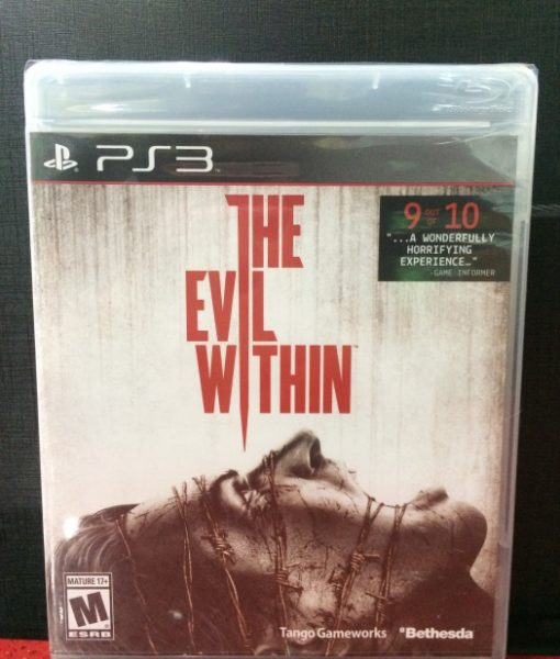 PS3 The Evil Within game