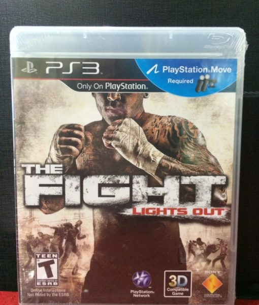 PS3 The Fight Lights Out game