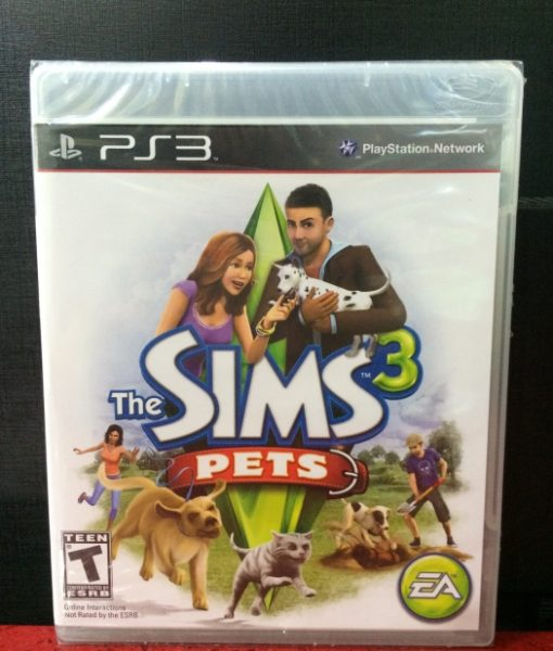 PS3 The Sims 3 Pets game