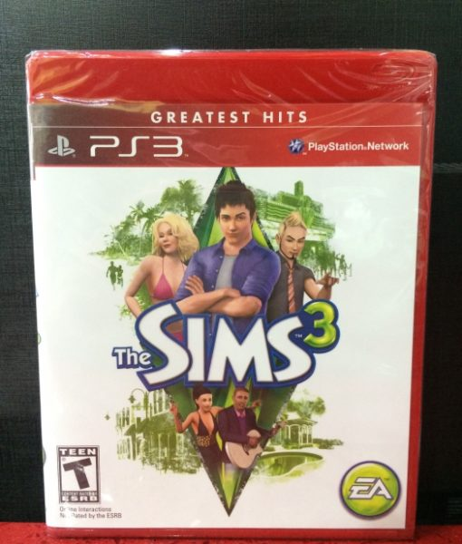 PS3 The Sims 3 game