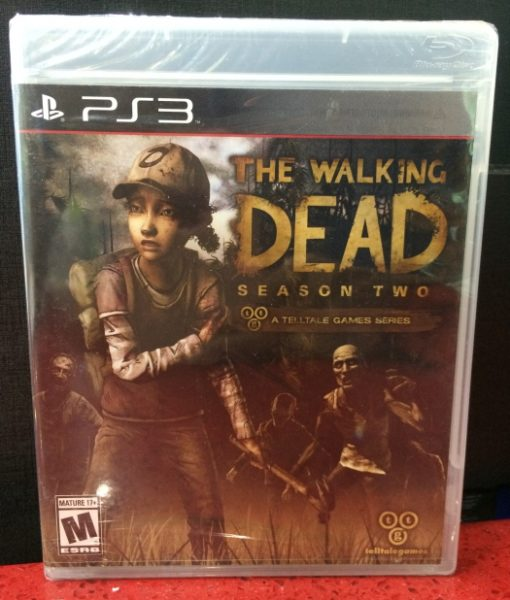 PS3 The Walking Dead Season Two game