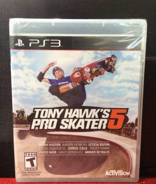 PS3 Tony Hawks Pro Skater 5 game