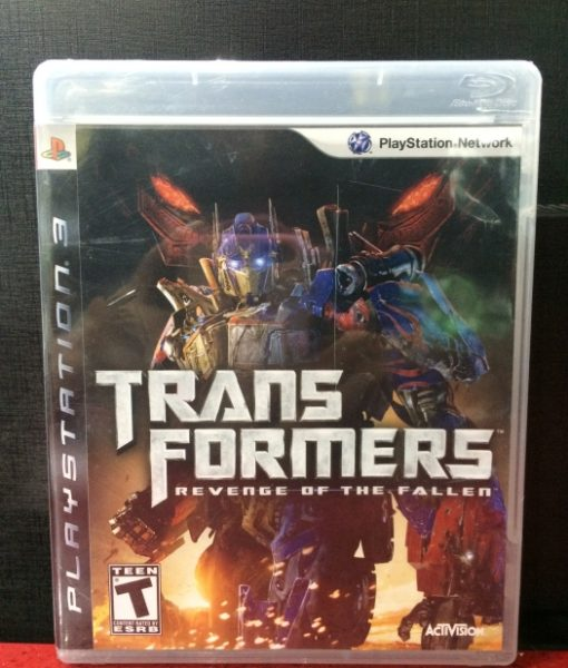 PS3 TransFormers Revenge of the Fallen game