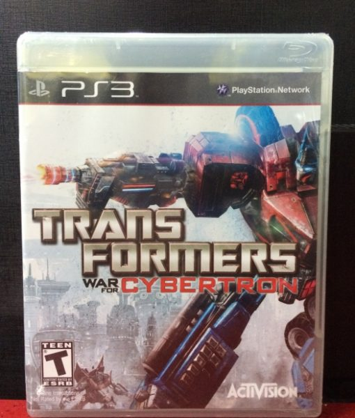 PS3 TransFormers War for Cybertron game
