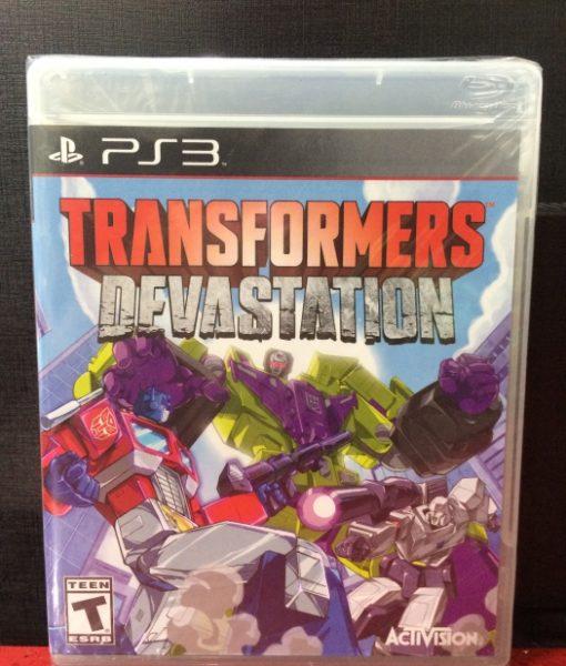 PS3 Transformers Devastation game