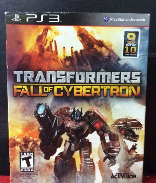 PS3 Transformers Fall of Cybertron game
