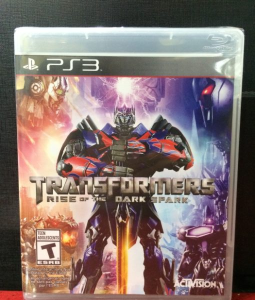 PS3 Transformers Rise Dark Spark game