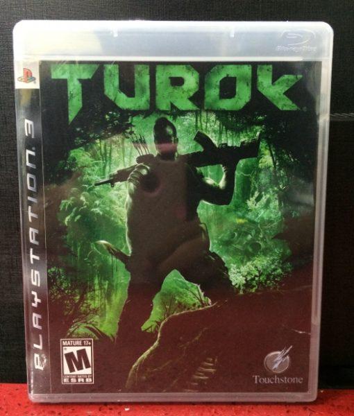 PS3 Turok game