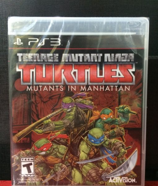 PS3 Turtles Mutants in Manhattan game