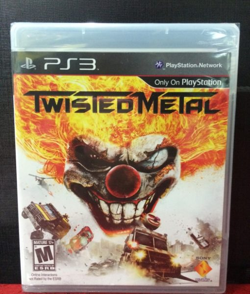 PS3 Twisted Metal game