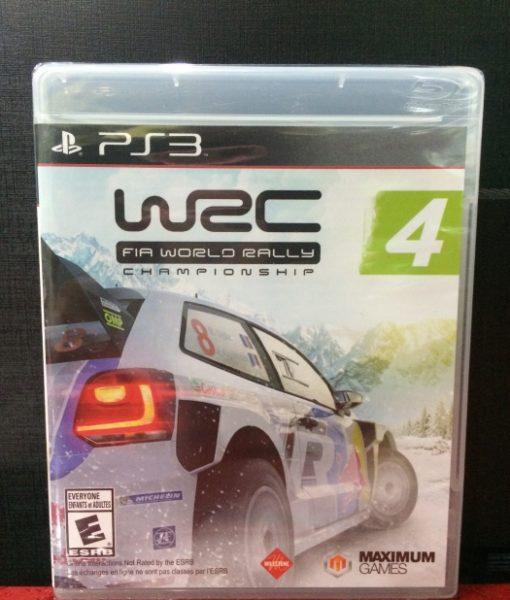 PS3 WRC Rally Champion 4 game