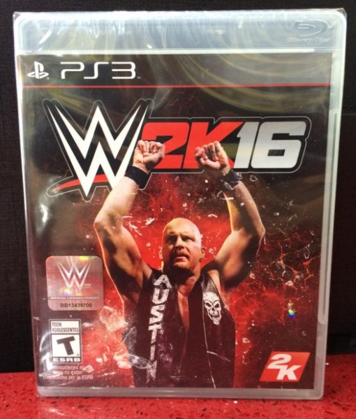 PS3 WWE 2K16 game