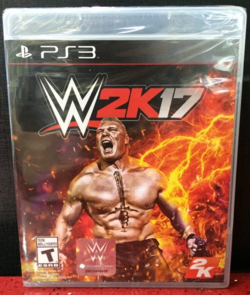 PS3 WWE 2K17 game