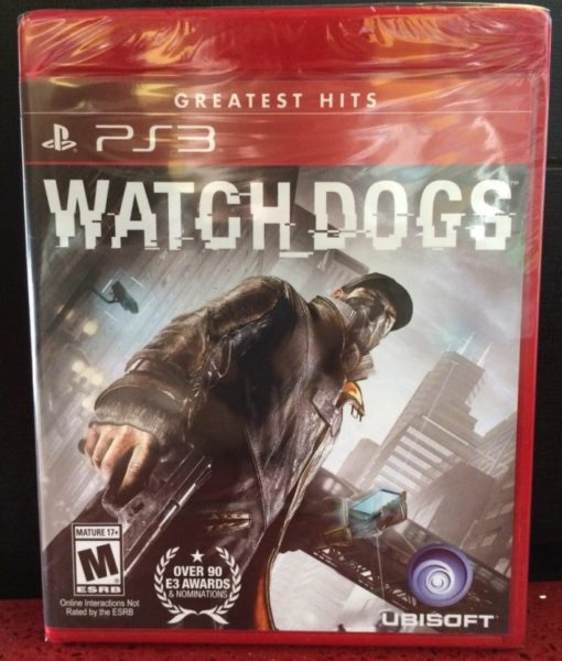 PS3 WatchDogs game