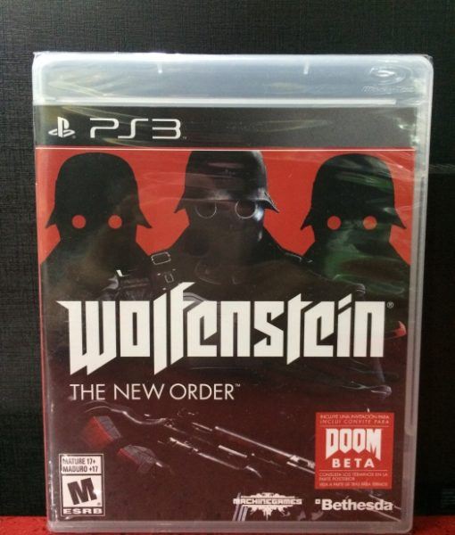 PS3 Wolfenstein The New Order game