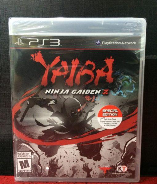 PS3 YAIBA Ninja Gaiden Z game