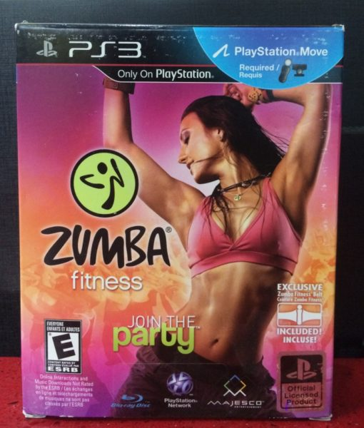 PS3 Zumba Fitness game