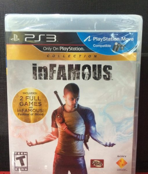 PS3 inFAMOUS Collection game