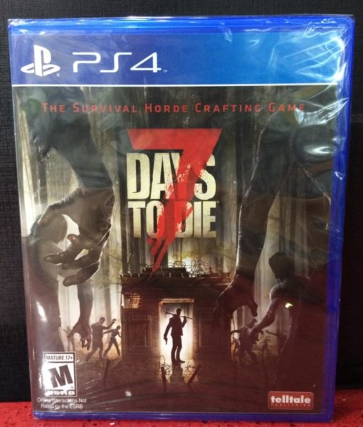 PS4 7 Days to Die game