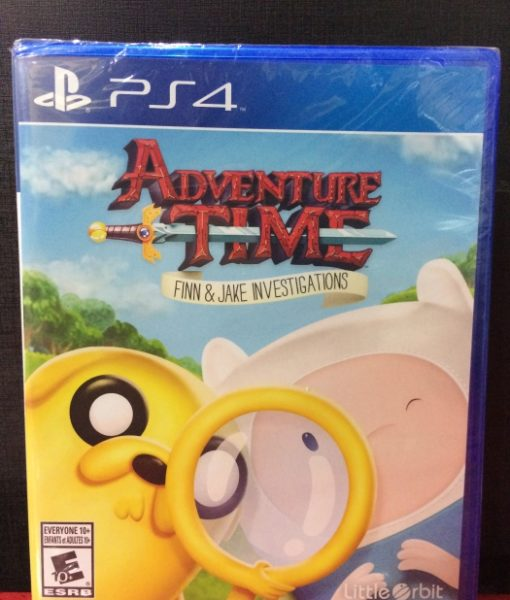 PS4 Adventure Time Investigations game