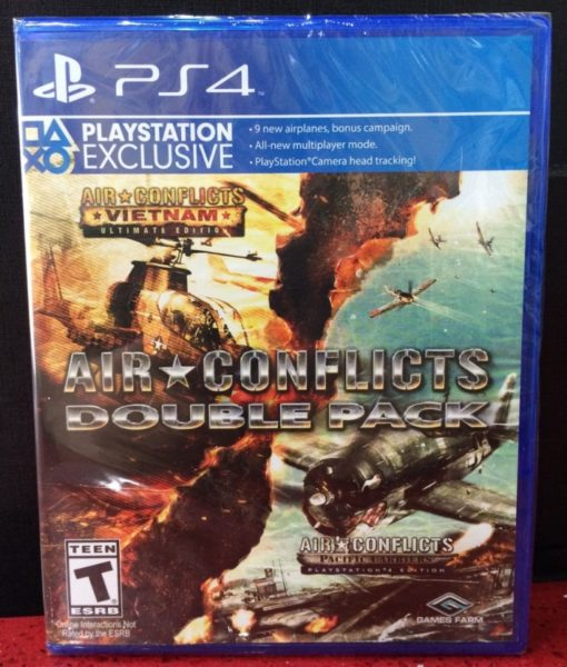 PS4 Air Conflicts Double Pack game