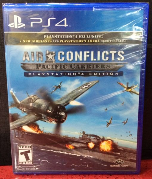 PS4 Air Conflicts Pacific Carriers game